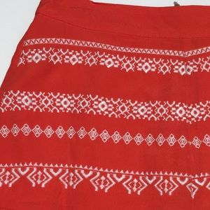 Anthropologie Shorts - Anthropologie Moon River Embroidered Shorts M NWT